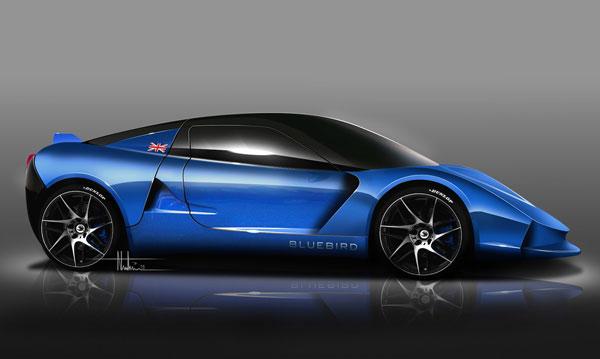 Bluebird Eletric Car